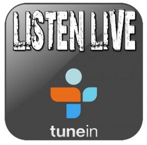 Listen Live on TuneIn